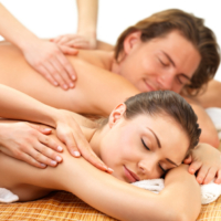 N.J. Massage and Spa | Couples massage is a great way to experience a massage.   Two people share a room during their massage, with each person on their own comfortable table and different therapists.