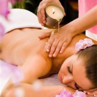 Massage Flame Hot Oil Massage