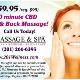 CBD Massage Special