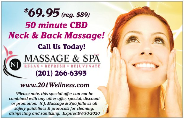 CBD OIl Massage Special